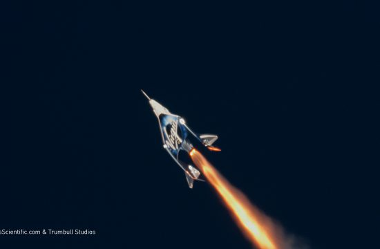 Virgin Galactic's First Spaceflight
