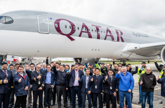 Qatar Airways 250th aircraft