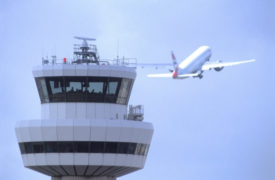 Gatwick Airport control tower