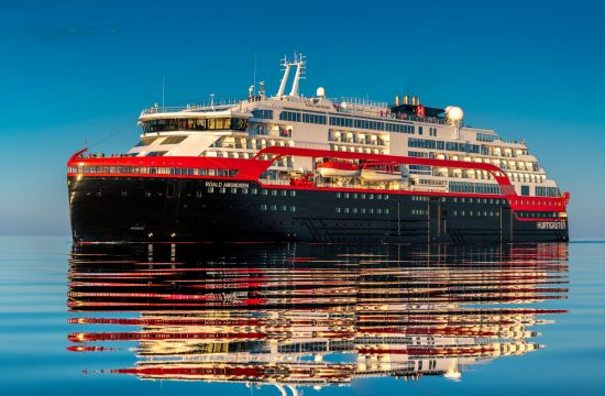 Hurtigruten MS Roald Amundsen will cruise the British Isles in September 2020